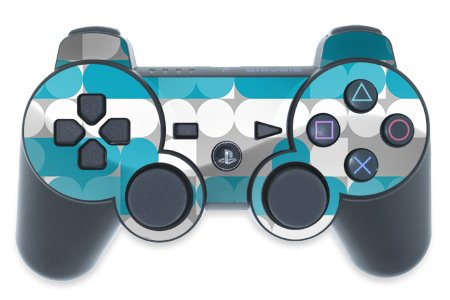 Neo Neo Blue Design Ps3 Playstation 3 Controller Protector Skin Decal Sticker