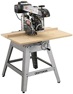 Craftsman 9-22010 Professional 3 Horsepower 10-Inch Radial Arm Saw