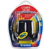 Coby CX-26 Portable Stereo Cassette Player Vintage