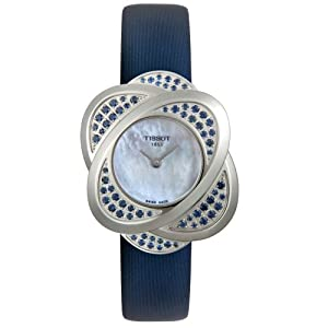 Tissot Women's T03123580 T-Trend Collection Precious Flower Blue Sapphire Watch