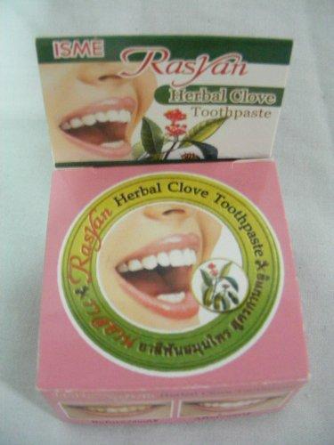 Rasyan Herbal Clove Toothpaste (5 Gram Size)- From Thailand