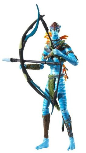 Buy Low Price Mattel James Cameron's Avatar Movie Masters Action Figure Avatar Jake Sully Warrior (B003CTGYO2)