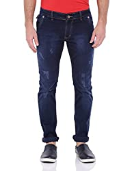 Bandit Solid NAVY BLUE Jeans 36