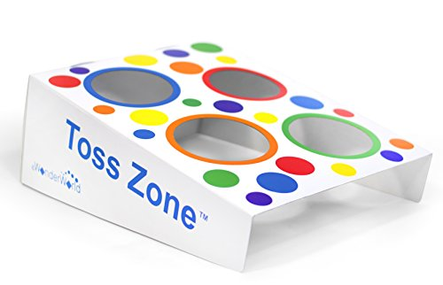 eWonderWorld Toss Zone - Educational & Sensory Learning Ball Game for Children (Toddler Corn Hole compare prices)