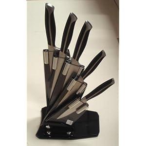 pradel premium 071 coffret de 7 pi ces c ramique 2 couteaux steak 1 couteau cuisine. Black Bedroom Furniture Sets. Home Design Ideas