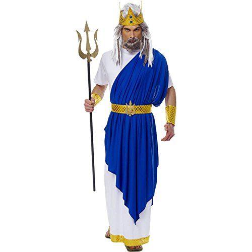Why And How To Dress Up As Greek Gods & Goddesses For ... Poseidon Costume For Men