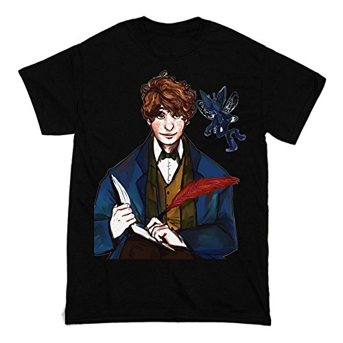 Fantastic Beasts and Where to Find Them Movie Character Newt Scamander Men's T-shirt Small