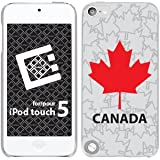 Cellet Proguard with Canada Maple for Apple iPod Touch 5th Generation Hard Case Cover Snap-On