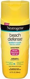 Neutrogena Beach Defense Lotion Broad Spectrum SPF 30 Sunscreen