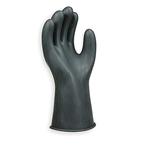 Electrical Gloves, Size 10, Black, Pair
