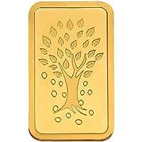 Kundan NABL Certified 1 gm, 24k(999.9) Yellow Gold Kalpataru Tree Precious Coin