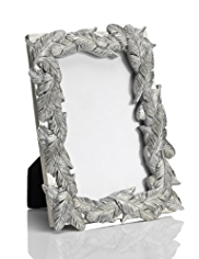 "Feather Design Photo Frame 10 x 15cm (4 x 6"")"