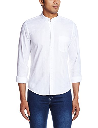 Pepe-Jeans-Mens-Casual-Shirt-8903872746606MURRAY-LSXLWHITE