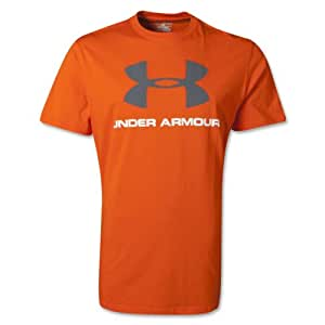 Under Armour Sportstyle Logo T-Shirt manches courtes Homme S Orange - Out/Gph