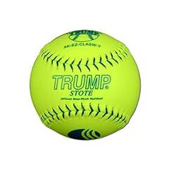 Buy 1 Dozen USSSA Trump Stote 11 Softballs - 44cor .400 Compression (AK-EZ-CLASW-Y) 12... by Trump/Evil Sports
