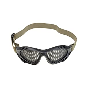 Neewer Black Shooting Tactical Airsoft Goggles No Fog Mesh Glasses Protect Eyes