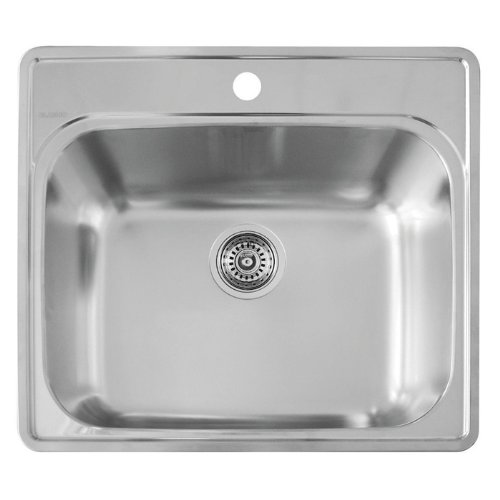 Blanco 441078 Essential Laundry Sink, Stainless Steel (Stainless Steel Utility Sinks compare prices)