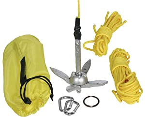 Seattle Sports Yellow 058500 Kayak Fishing Anchor Kit