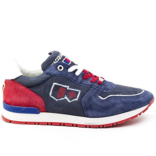 D'Acquasparta scarpa uomo Botticelli U400BR blue red nr.44