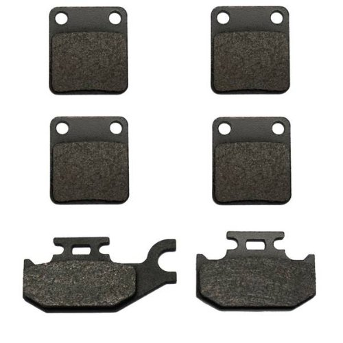 2007-2013 Yamaha Grizzly 450 YFM450 4x4 Kevlar Front & Rear Brake Pads (2011 Yamaha Grizzly 450 compare prices)
