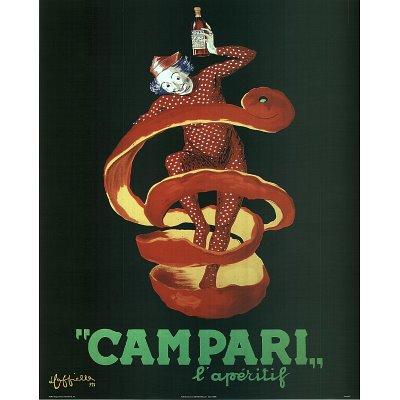 Campari Mini Poster Mini Poster Print, 16X20