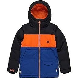 DC Big Boys\' Downhill Boy Snow Jacket, Anthracite, 16/X-Large