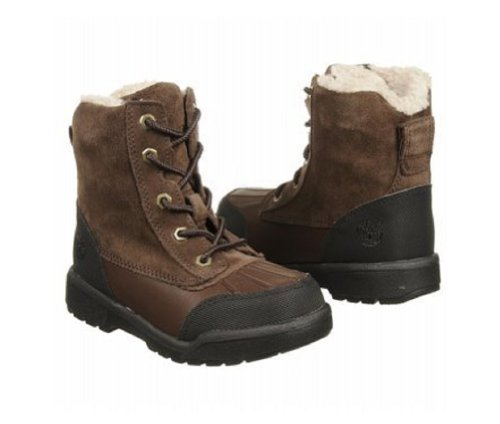 Timberland Kids' Field Duck Boot Tod/Pre (Brown 5.0 M)