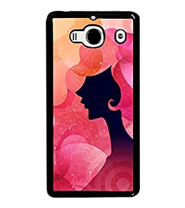 Fuson Premium 2D Back Case Cover Designed lady With Multi Background Degined For Xiaomi Redmi 2S::Xiaomi Redmi 2::Xiaomi Redmi 2 Prime