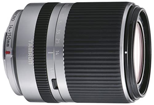 TAMRON 高倍率ズームレンズ 14-150mm F3.5-5.8 DiIII マイクロフォーサーズ用 ミラーレスカメラ マイクロフォーサーズ専用 シルバー C001F-SILVER