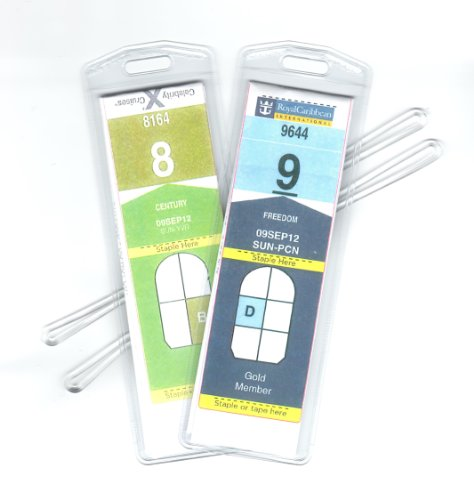 Cruise Ship Narrow Luggage Tag For Travel E-Documents (8 Count) New | EBay