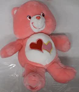 "Care Bears Love a Lot Bear 14"" Talking & Singing Electronic Plush Doll"