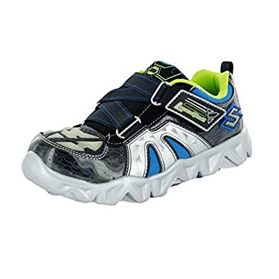 skechers kids datarox hydrometer light up sneaker shoes. Black Bedroom Furniture Sets. Home Design Ideas