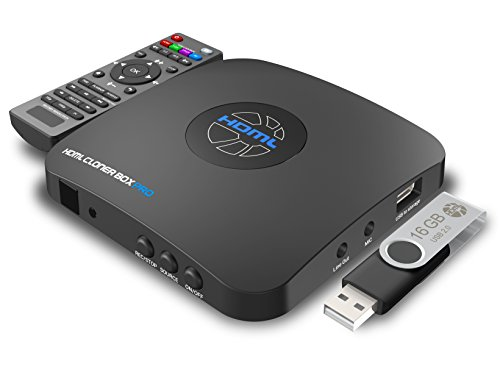HDML-Cloner Box Pro, capture HD videos and game videos to USB storage device/PC for instant playback with the remote control, schedule recording, HDMI/VGA/AV/YPbPr input. (A Free Game Ca compare prices)