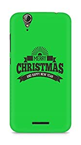 Amez designer printed 3d premium high quality back case cover for Acer Z630S (Christmas Wishes Retro Vintage)