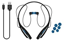 buy Ijoy Logo Premium Wireless Active Bluetooth Neckband Headset - Retail Packaging - Water Blue