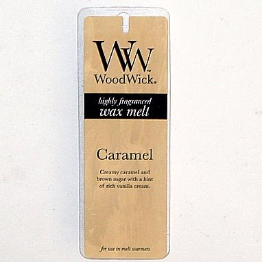 Virginia Candle WoodWick Wax Melt 0.77 Oz. - Caramel