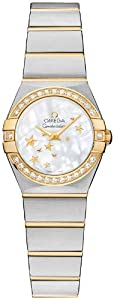 NEW OMEGA CONSTELLATION LADIES WATCH 123.25.24.60.05.001