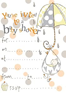 pack of 8 baby shower invitations kitchen home