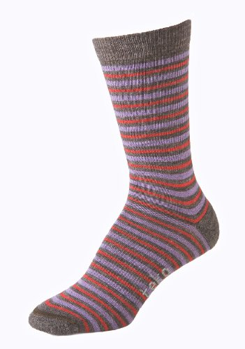 Teko Women's M3RINO.XC Merino Wool Poly Blend Vienna Socks, Brown