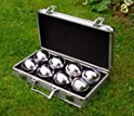 Garden Boules in Metal Surround Box (...