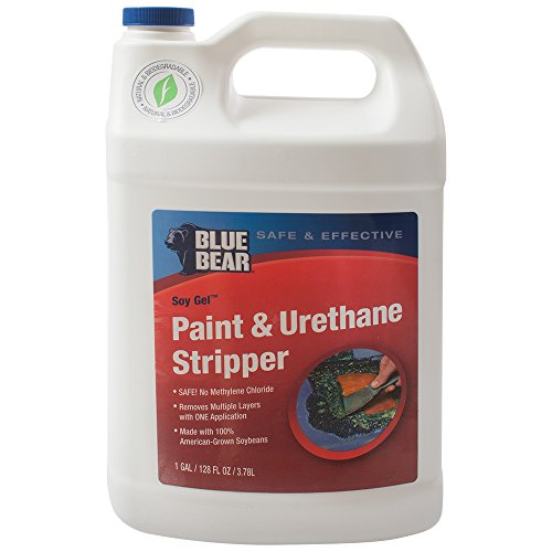 paint stripper for urethane bumpers