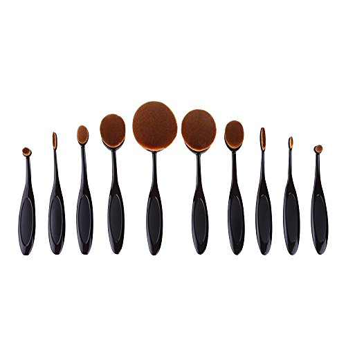 conteverr-pro-blush-poudre-10-pcs-poudre-pour-le-visage-curve-foundation-brush-noir