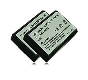 M&L Mobiles® | 2x Batería LP-E10 | LPE10 para Canon EOS 1100D | EOS Rebel T3 | EOS KISS X50  Electrónica Comentarios de clientes y más información