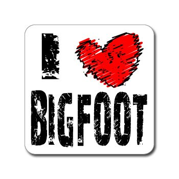 Bigfoot Bumper Stickers