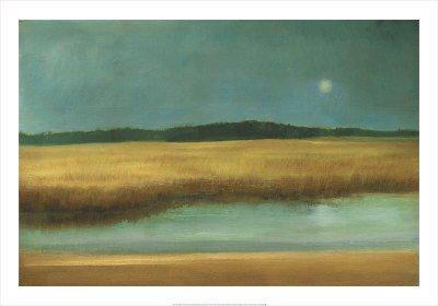 Harvest Moon Print by Caroline Gold
