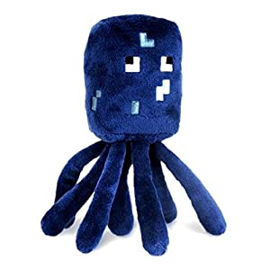 Minecraft 7-Inch Baby Squid Animal Plush Toy