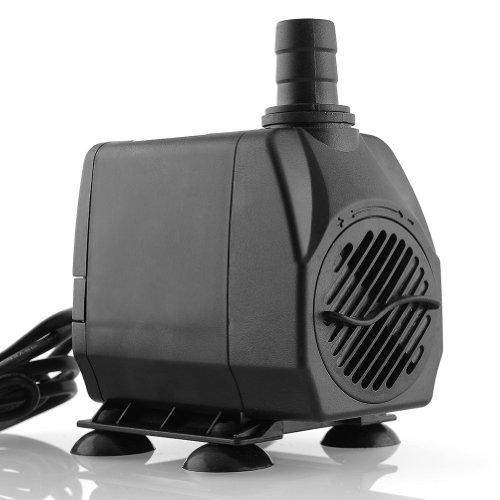 amzdeal-Tauchpumpe-Aquariumpumpe-60Watt-3000LH-max-H-3m-fr-S-und-Meerwasser-schwarz
