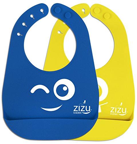 best-baby-bib-waterproof-silicone-bibs-easily-wipe-clean-free-baby-temperature-spoon-spend-less-time