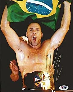 Wanderlei Silva Signed UFC 8x10 Photo COA Picture Autograph Pride FC 28 - PSA/DNA Certified - Autographed UFC Photos