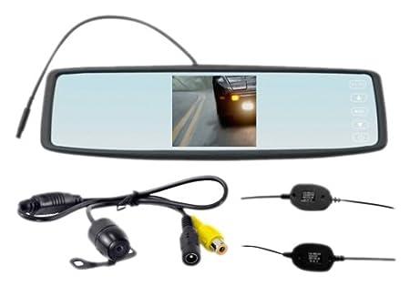 Falcon Zero F3HD DVR Dual Dash Cam, Rear View Mirror